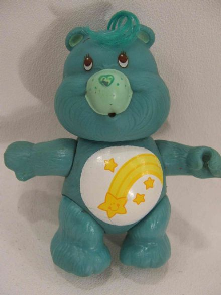 VINTAGE WISH CARE BEAR POSEABLE